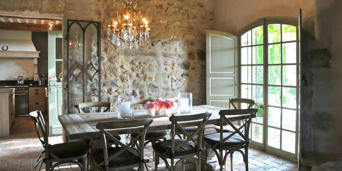 Only provence france luxury vacation villas for Provence home