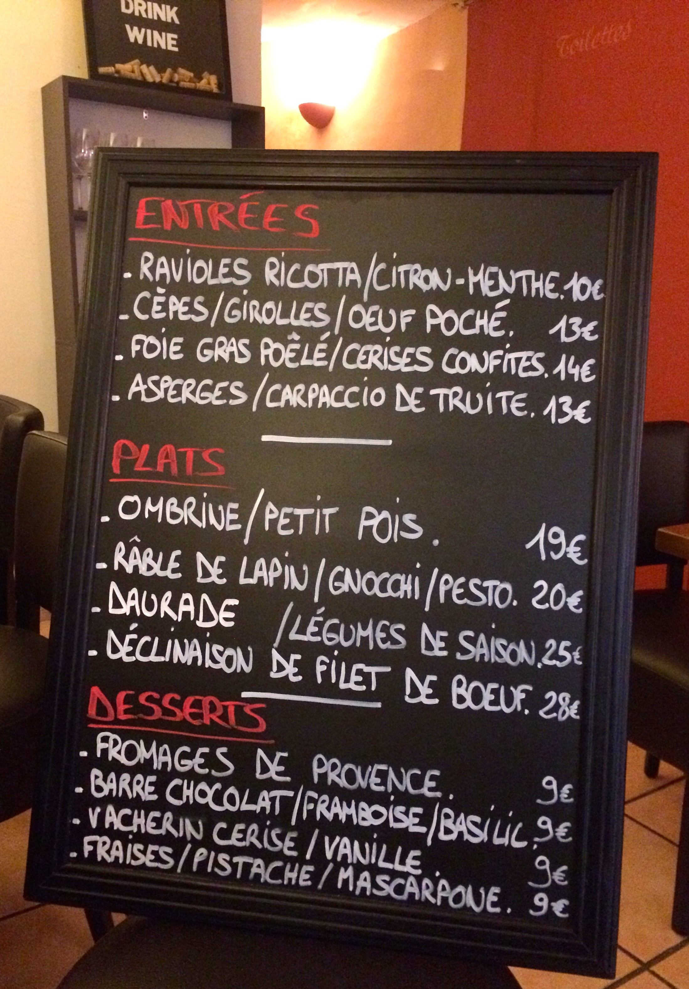 Two Great Restaurants In Aix En Provence Only Provence
